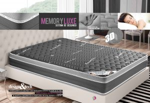 colchón memory luxe biosalud natura